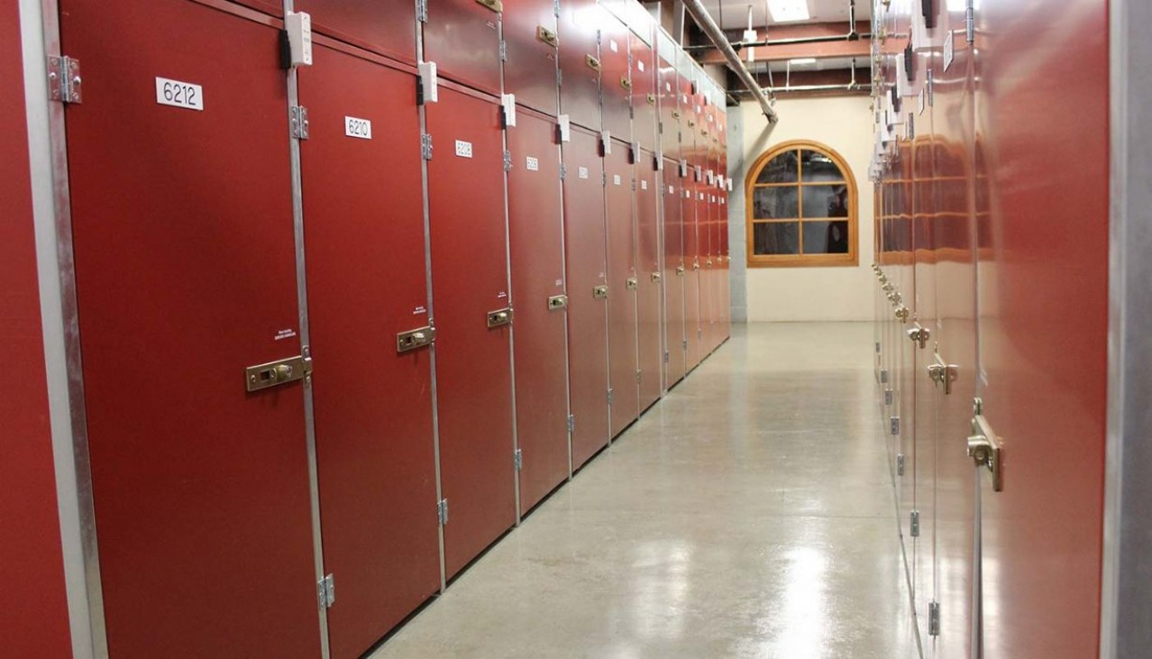 Price Self Storage Walnut Creek various sizes of wine storage lockers and storage units in temperature controlled area