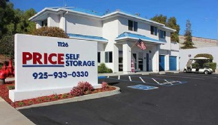 Price Self Storage Walnut Creek rental office