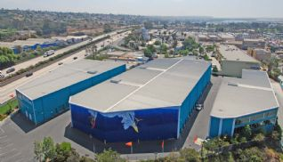 Price Self Storage Pacific Beach aerial view of the facility