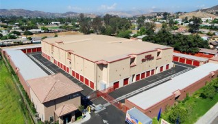 Price Self Storage Santee aerial view of the facility
