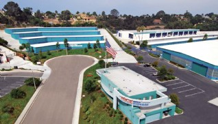 Price Self Storage Solana Beach aerial view of the facility